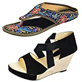 #9: Thari Choice Women Wedges With Rajasthani Chappal For Women And Girls