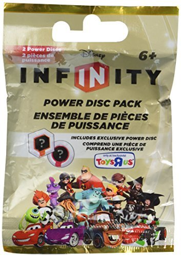 Disney Infinity EXCLUSIVE SERIES 8 Power Disc Pack [GOLD Pack] LAST 4 DIGITS OF BARCODE SAY 4031 by Disney Interactive Studios