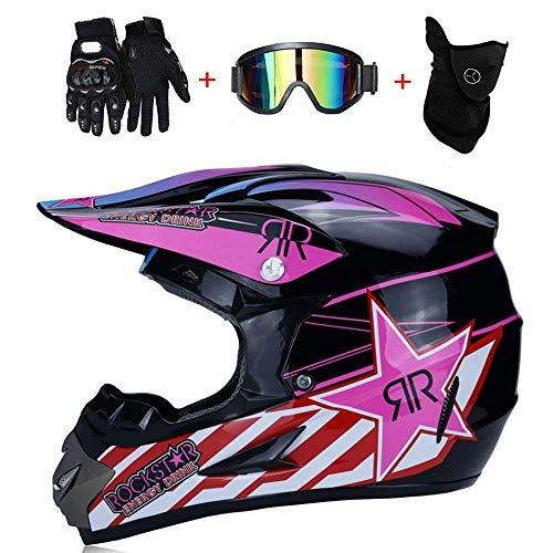 AA-Helmet TOKU Motocross Motocicletas Cascos