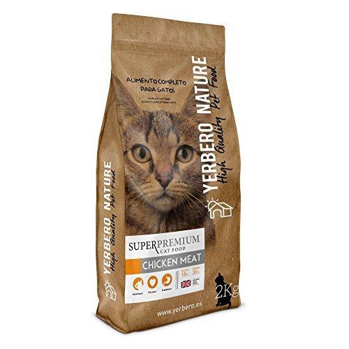 Yerbero NATURE CHICKEN MEAT pienso superpremium para gatos 2kg
