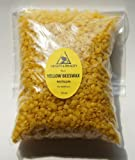 Yellow Beeswax Bees Wax Organic Pastille...