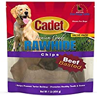 IMS Trading 10062-16 Beef Rawhide Chips for Dogs by IMS Trading