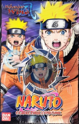 Naruto Starter Deck Nahender Wind german
