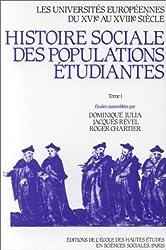 Les universités européennes du XVIe au XVIIIe siècle, tome 1. Bohême, Etats italiens, Pays germaniques, Pologne, Provinces-Unies