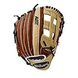 Wilson 2018 A2K 1799 12.75' Outfield Baseball Glove, Left Hand Throw - Copper/Blonde/White