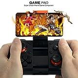 Universal Gamepad Drahtlos Gaming Controller Joypad Passt für Android Smartphone Samsung Sony Neuxs Lumia(Schwarz)