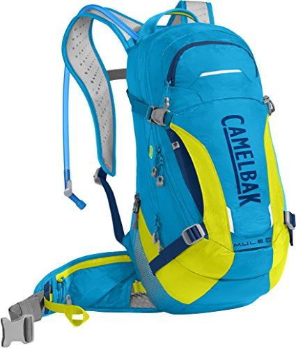 CamelBak Unisex M.u.l.e. Lr Hiking-Hydration-Packs atomic blue/sulfur springs