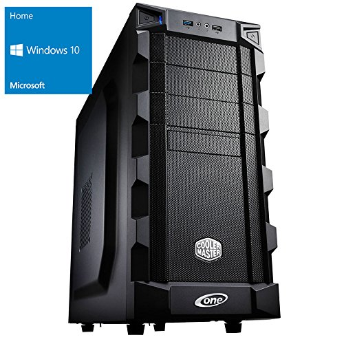 ONE Multimedia-PC AMD Bulldozer FX-8350, 8x 4.00 GHz (Octocore) | 16 GB DDR3-RAM | 250 GB SSD & 1000 GB HDD | DVD-Brenner | Gigabyte GA-78LMT-USB3 | CardReader | 4 GB NVIDIA GeForce GTX 1050 Ti (HDMI, DVI, DP) | 7.1 Sound | LAN | inkl. Windows 10 Home (64-Bit)