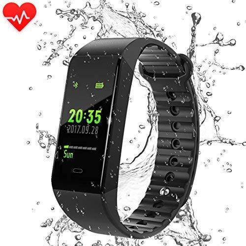 Montre Connectée Cardiofréquencemètre Tension Artérielle S5 Bracelet Connecté Podomètre...