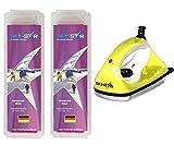 SKINSTAR Starter Ski Wachs Set, UNIVERSAL-WAX All IN ONE High Skiwachs Wachsbügeleisen