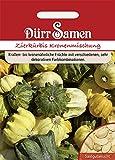 Kürbis Zierkürbis Kronenförmige Mischung Samen