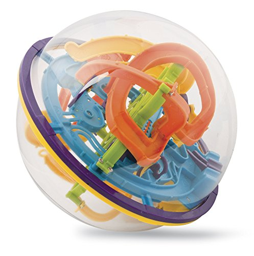 Gadgy Maze Ball Groß | 3D Puzzle | Kugel Labyrinth | 118 Etappen