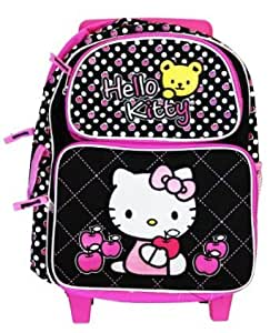 hello kitty rucksack mit rollen klein koffer. Black Bedroom Furniture Sets. Home Design Ideas