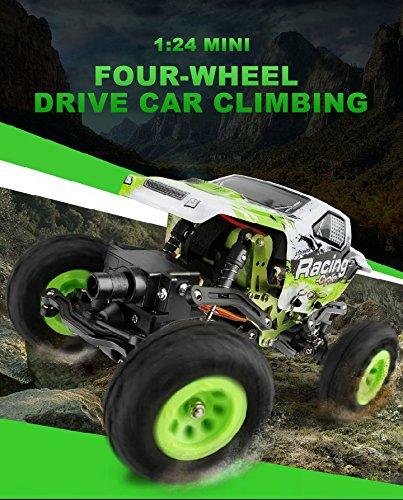 1:24 Skala RC Rennwagen 2.4G Hochgeschwindigkeits-4WD Elektrischer Energie-Buggy weg vom Straßen-Auto - 4