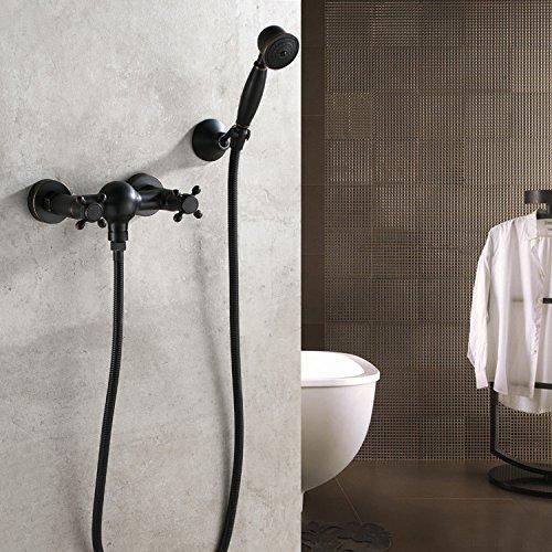 retro-continentale-nero-bronzo-vasca-da-bagno-doccia-rubinetto-miscelatore-doccia-doccia-doccia-set