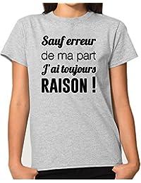 Peceony T-Shirts Col Ras du Cou Lunettes Imprime pour Femmes ef05c375d3c0