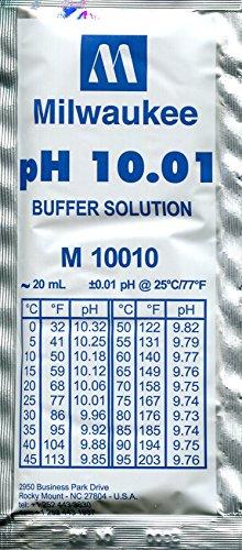 pH-Pufferlösung pH 10,01 - 25 Beutel mit je 20 ml -