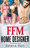 Sharing My Husband with the Home Designer: First Time FFM Short Story (English Edition)