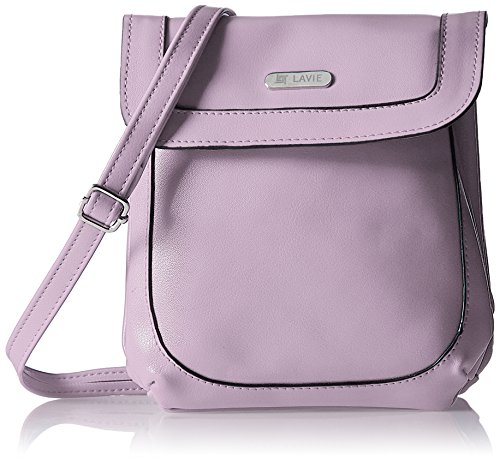 Lavie Dover Women's Sling Bag (Lavender)  available at amazon for Rs.704