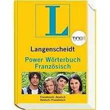 Langenscheidt Power Wörterbuch Französisch TING - Buch (TING-Edition): Französisch-Deutsch/Deutsch-Französisch