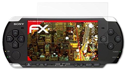 Sony PSP-3004 Panzerfolie - 3 x atFoliX FX-Shock-Antireflex blendfreie stoßabsorbierende Panzerschutzfolie Displayschutzfolie