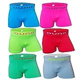 6-12 Stück Jungen Unterhosen Boxershorts Unterwäsche Kinder (2/4, Modell 1 - 6 Stück)