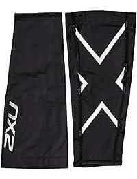 2XU Compression Calf Guards Perform Black/White Herren