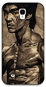 The Racoon Lean Bruce Lee hard plastic printed back case / cover for Samsung Galaxy Mega 6.3