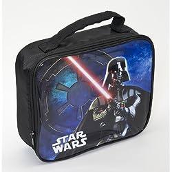 Joy Toy Darth Vader Borsa Porta Merenda, Plastica, Multicolore, 24x8x22 cm