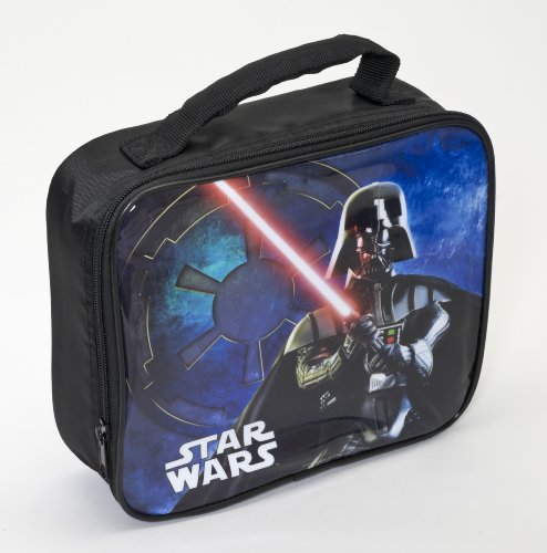 Joy toy- darth vader star wars borsa porta merenda, multicolore, 24x8x22 cm, 76322