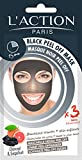 L' azione Paris Peel-Off Maschera Viso Nero