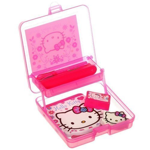 Hello Kitty Folksy - Kit de Bureau