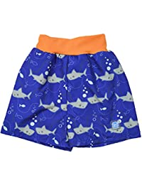 Splash About Baby Happy Nappy Board Shorts-Shark Orange, X-Large