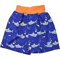 Splash About Baby Happy Nappy Board Shorts-Shark Orange, X-Large
