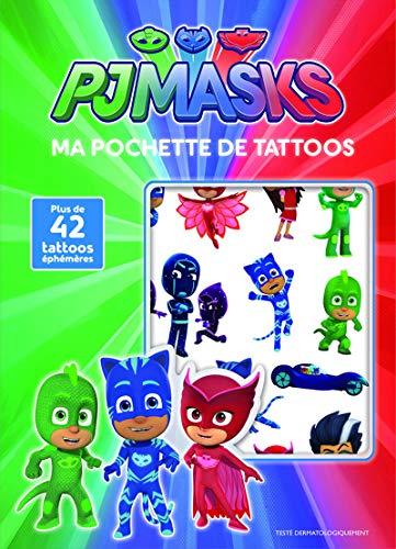 Ma pochette de tattoos pjmasks