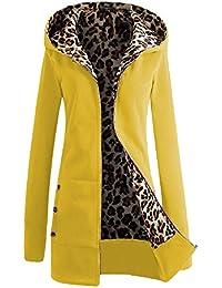 Bestfort Warm Sweat shirt mit Kaputze Damen Jacke Große Zip Baumwolle hoody Im frühjahr und im Herbst