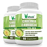 Vubasil Garcinia Cambogia Weight Loss Supplement 800mg 70 percent HCA (120 Capsules Pack)