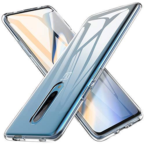 iBetter Slim Thin Protettiva per Oneplus 7 PRO Cover,Morbido TPU,Antiurto Morbida Silicone Trasparente Custodia, per Oneplus 7 PRO Smartphone.Trasparente