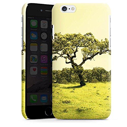 Apple iPhone 4 Housse Étui Silicone Coque Protection Arbre Paysage Prairie Cas Premium brillant