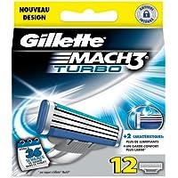 Gillette - Lamette per rasoio MACH3 Turbo