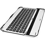 Sharon Samsung Galaxy Tab 10.1 10.1N P7500 P7510 Samsung Galaxy Tab 2 10.1 P5100 Alu Case mit integrierter Bluetooth Tastatur (deutsches Layout)