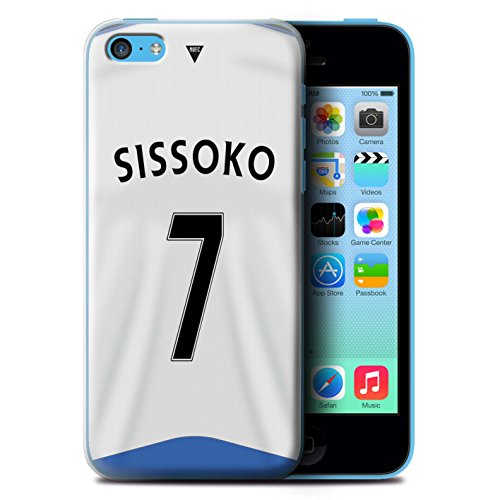 Offiziell Newcastle United FC Hülle / Case für Apple iPhone 5C / Pack 29pcs Muster / NUFC Trikot Home 15/16 Kollektion Sissoko
