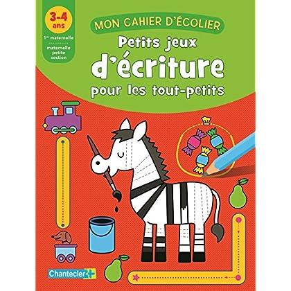 Petits jeux d'écriture pour les tout-petits : 3-4 ans