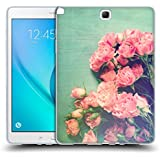 Official Olivia Joy StClaire Pink Roses On The Table Soft Gel Case for Samsung Galaxy Tab A 9.7
