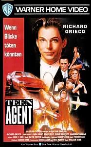 Teen Agent [VHS]: Richard Grieco, Linda Hunt, Roger Rees