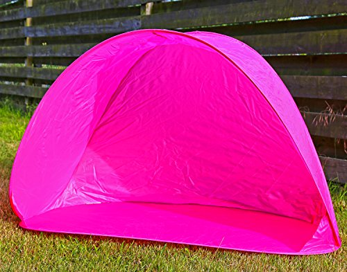Preisvergleich Produktbild Strandmuschel Pop Up Zelt Wurfzelt Sonnenzelt Sonnenschutz Sonnenschirm