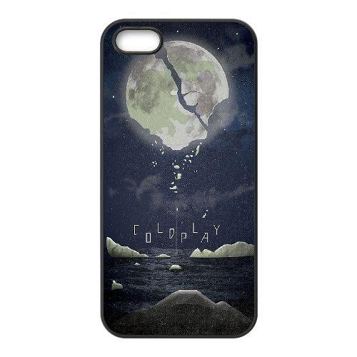 Coldplay coque iPhone 4 4S Housse téléphone Noir de couverture de cas coque EBDXJKNBO16974