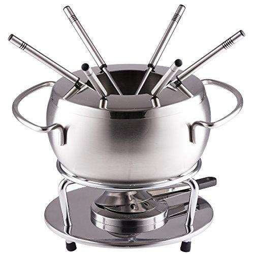 Style'n Cook Käsefondue Set Edelstahl 6-teilig