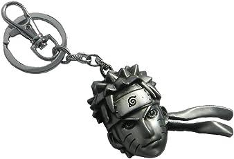 Techpro Metal Naruto Locking Keychain(Multicolour)