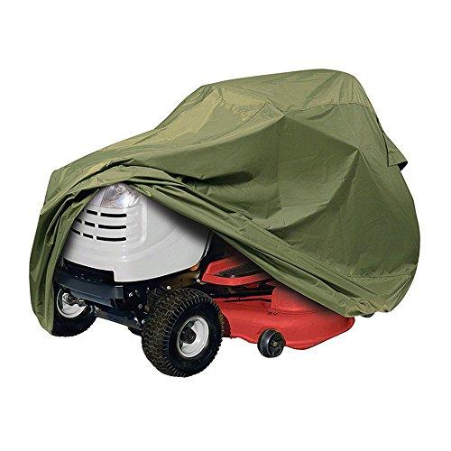 asen Traktor Rasenmäher, passt für bis zu 137,2cm Decks mit elastischem Bund–Heavy Duty Wetter, UV- und Schimmelresistent (Olive) (John Deere Traktor Rasenmäher)